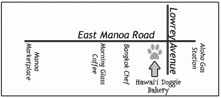 Map-to-Hawaii-Doggie-Bakery