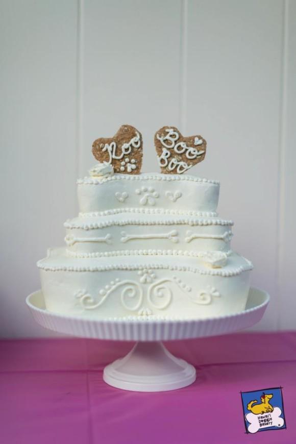 Doggie Wedding Cake