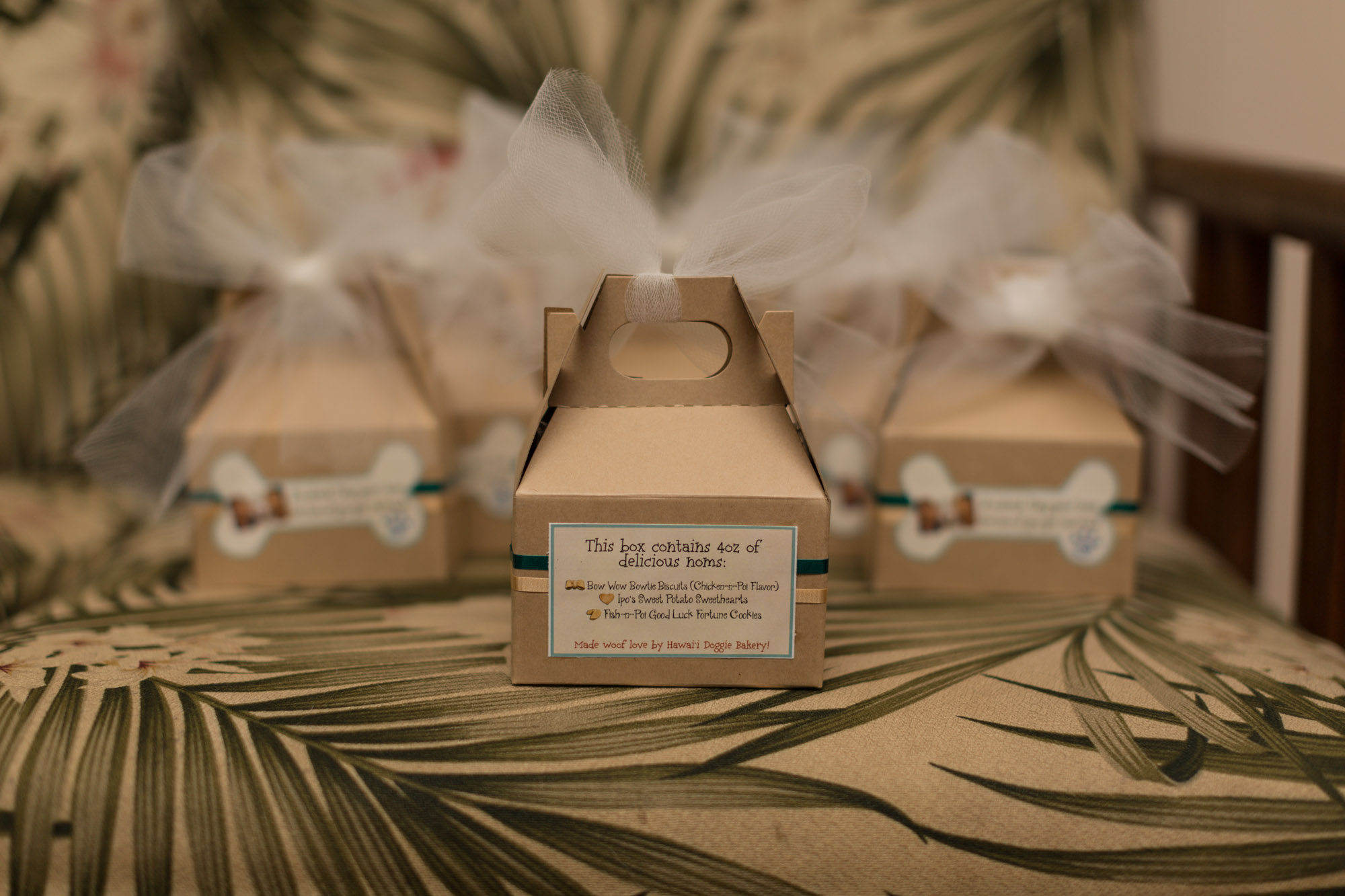Wedding Favors Back