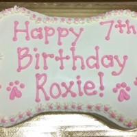 hawaii doggie bakery pawty cake - pink