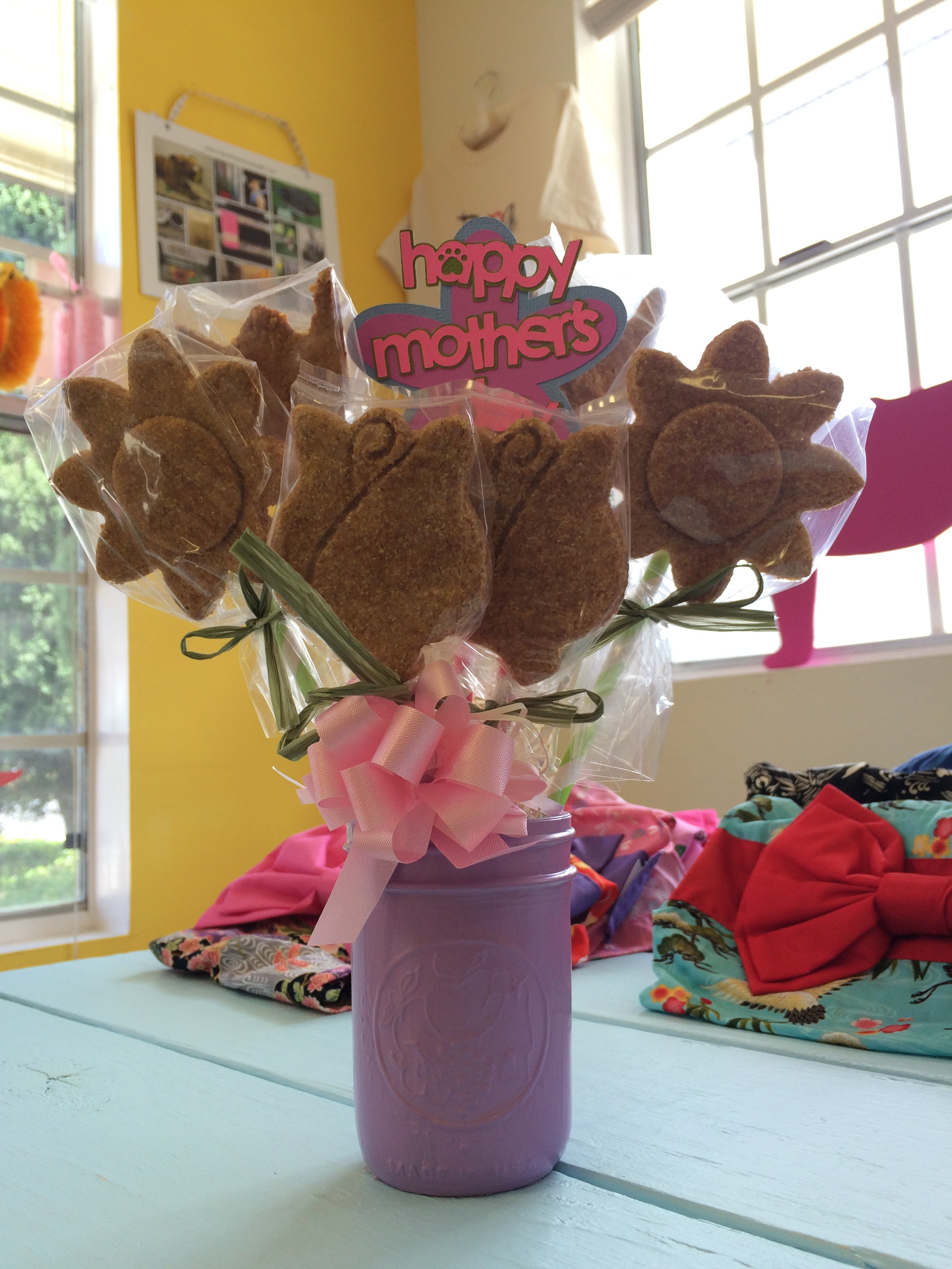 Announcing our NEW Mother's Day Biscuit Bouquets!