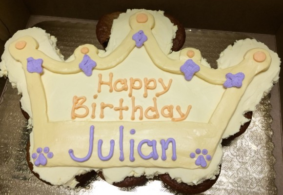 Crown Mutt Muffin Cake - Julian