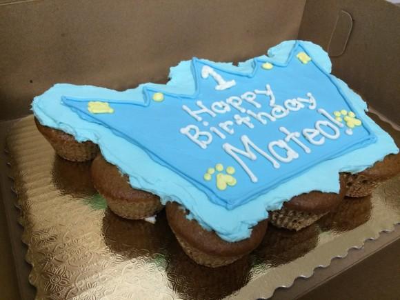 Crown Mutt Muffin Cake - Mateo - 2