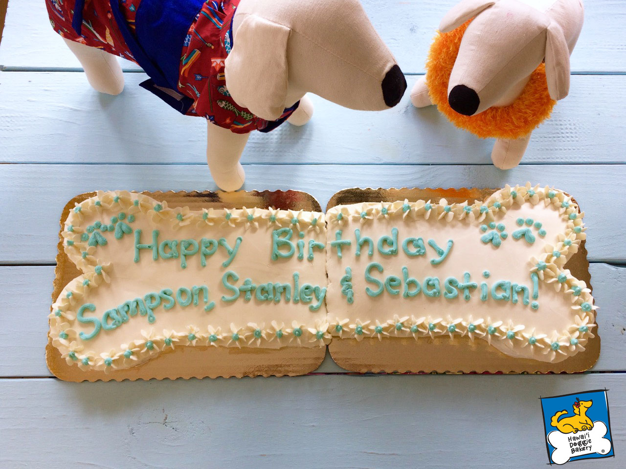 Specialty Cakes Hawaii Doggie Bakery