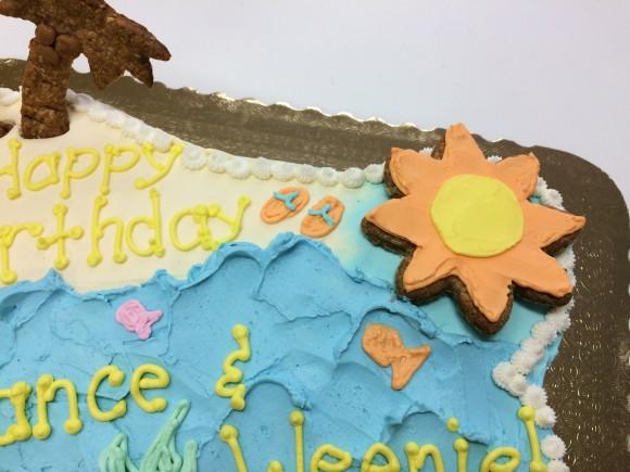 Beach Cake - close up 3