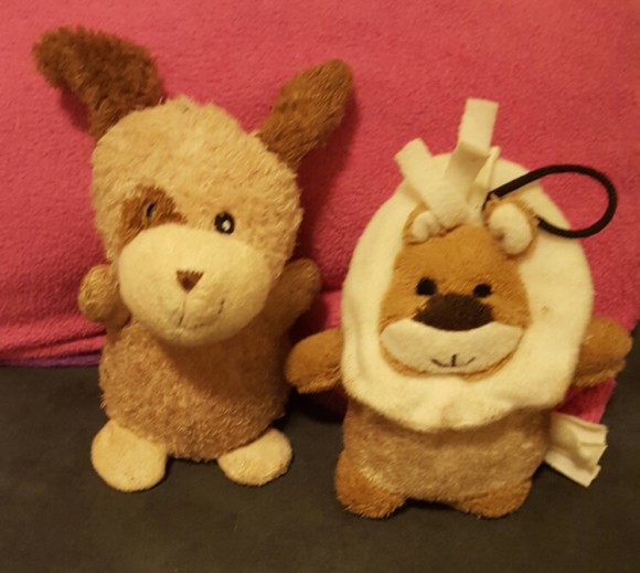 Doy Toys - lion and dog