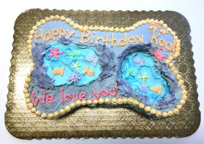 Specialty Cakes - Tidepool Theme