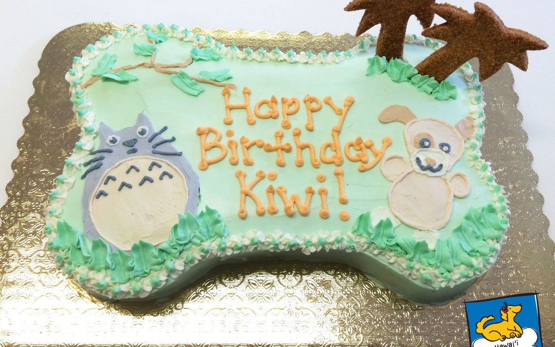 Specialty Cakes: Inspired by dog toys!