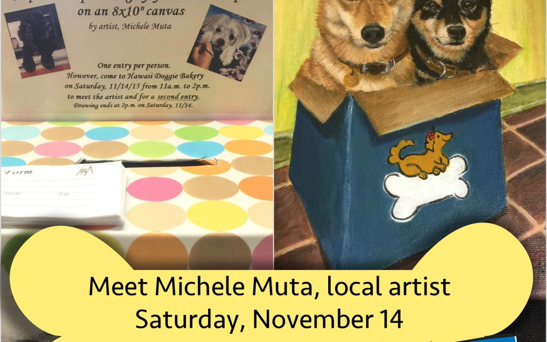 ENTER TO WIN a portrait painting of your dog!