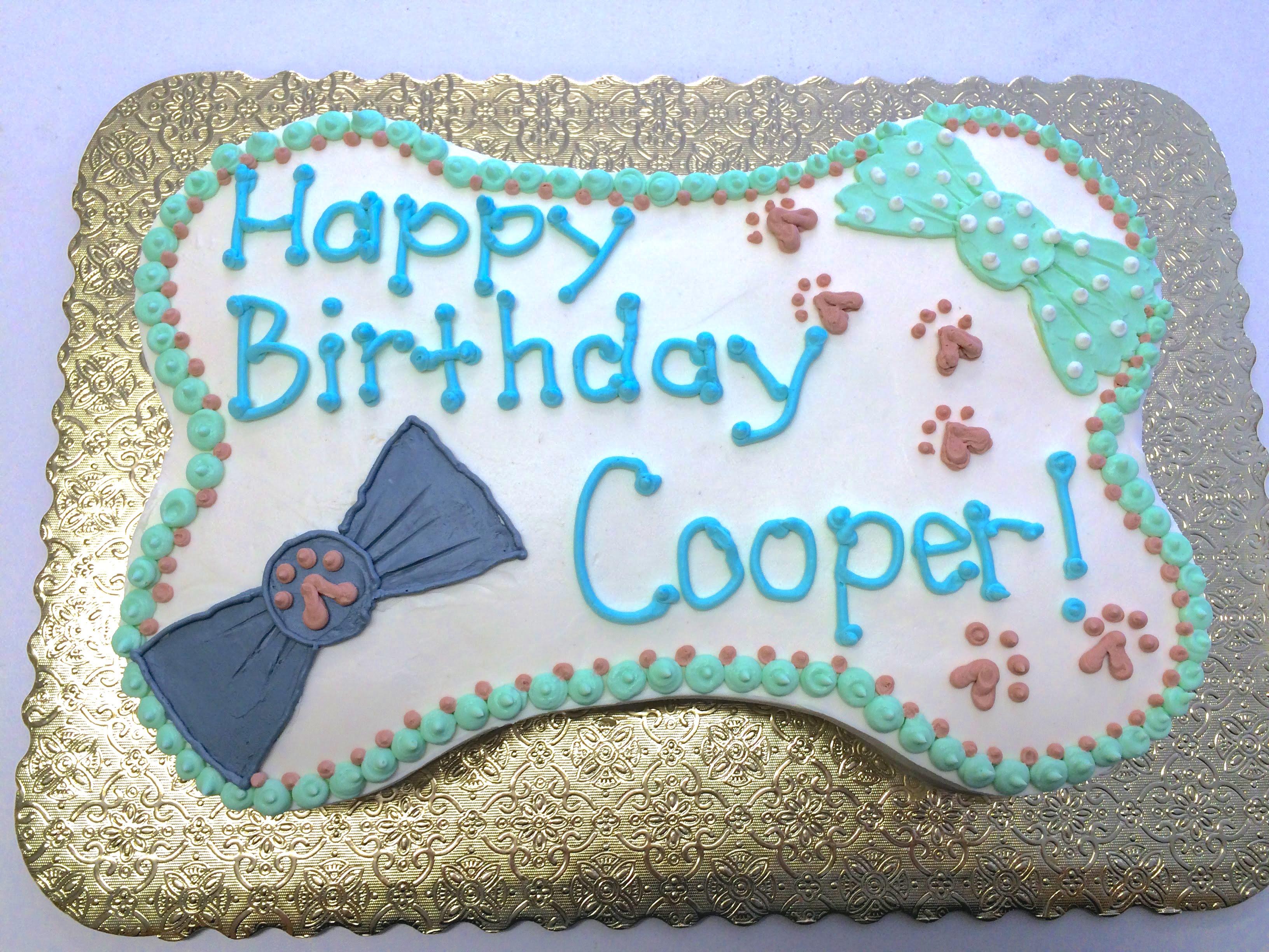 Bowtie Cake - Cooper