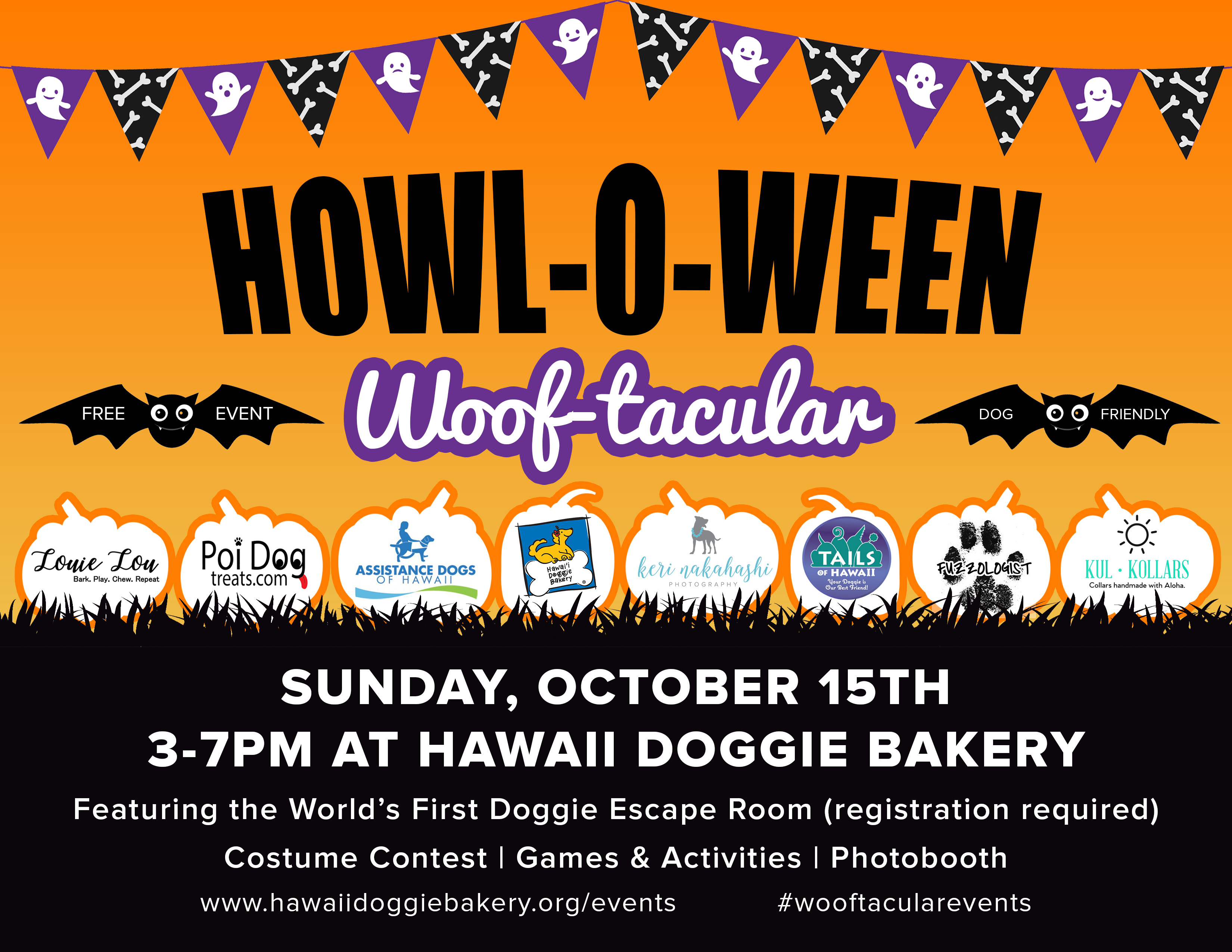 Howl-o-ween Woof-tacular 2017