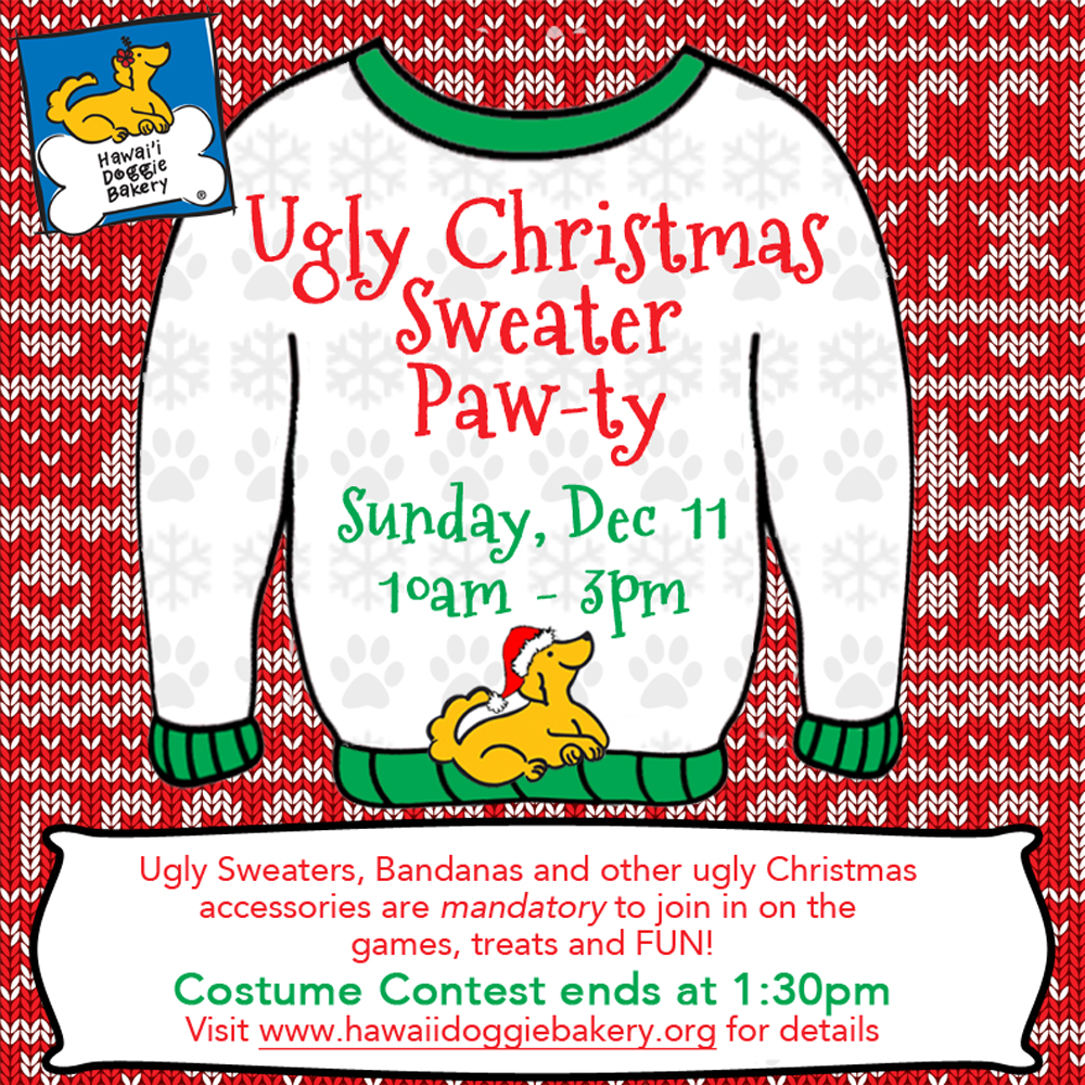 Ugly Christmas Sweater Pawty