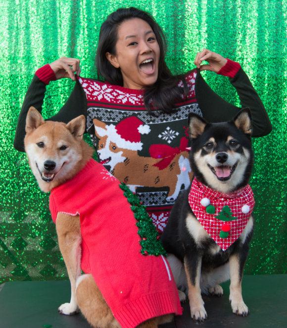 Ugly Christmas Sweater 2016 - Niki, Kuri & Katsumi Firefox